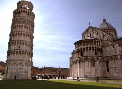 """Pisa – uluitorul """"Torre Pendente"""""""