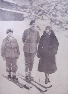 Mihai Carol al II lea si Regina Maria