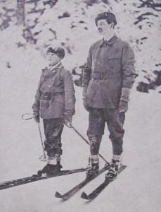 Regele Carol al II lea si fiul sau Mihai