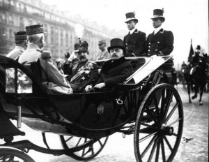 regele ferdinand si millerand paris 1924