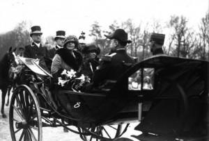 regina maria si dna millerand paris 1924