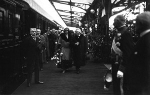 regina maria si millerand paris 1924