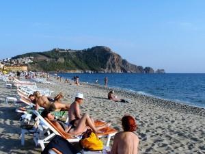 Plaja care poartă numele reginei Cleopatra