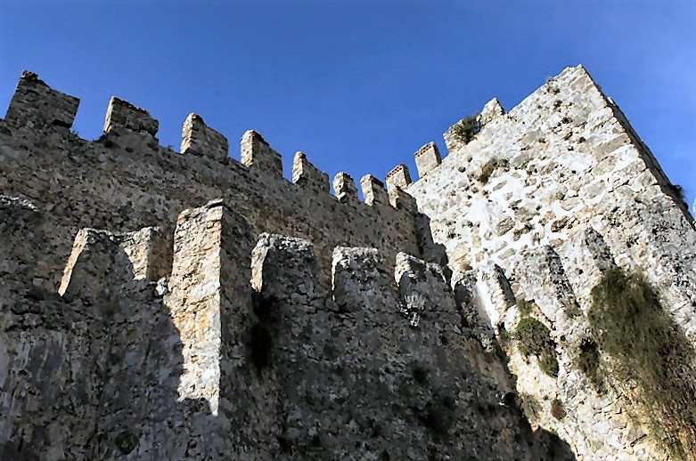 Alanya - Turcia. Zidurile cetății vechi.
