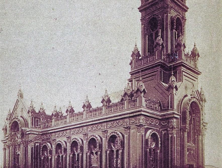 Biserica Sfantul Stefan la anul 1898