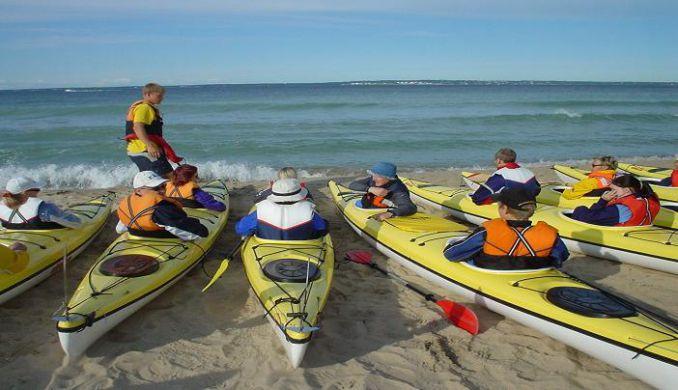 Sporturile nautice in Estonia, turism de aventura