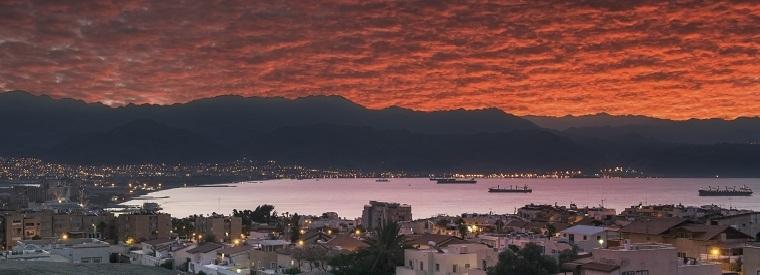 Aqaba amurg