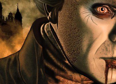 Dracula story. Halloween in Romania
