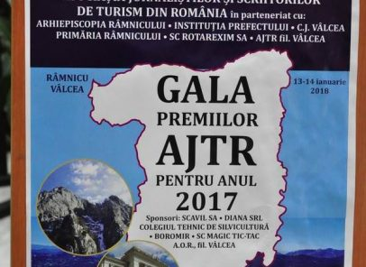 Gala Premiilor Asociației Jurnaliştilor şi Scriitorilor de Turism din România (AJTR)