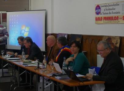 Gala Premiilor Jurnaştilor şi Scriitorilor de Turism din România