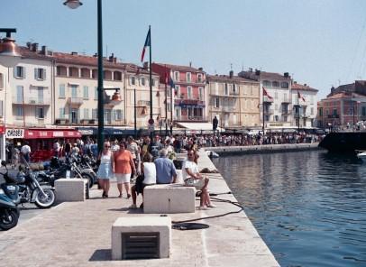 Turist la St. Tropez