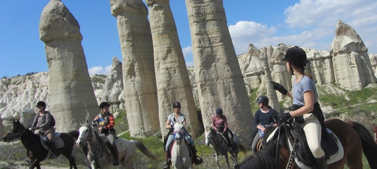 Turism de aventura - calare in Cappadocia